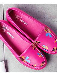 Mocassins féminins&Slip-ons spring moccasin comfort pu casual