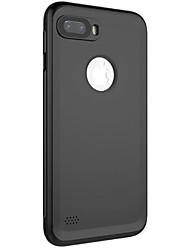 Para iphone 7 7plus 6s 6 6plus 6s mais capa de capa nova fantasia cor pura falta material de imitação padrão PU com seção de botão caixa