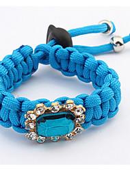 Fashion Simple Set Auger Woven Bracelet