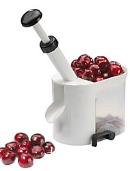 1Pcs Cherry Pitter Stone Remover Machine With Container  Random Color