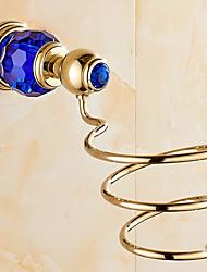 Mensola del bagno / OroOttone Acciaio inossidabile /Moderno