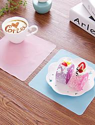 1pcs mignon dessin animé pellicule de silicone multi-fonctions et le bol à micro-ondes réfrigérateur de la couleur du joint de couvercle