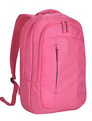 Saco de escola cor-de-rosa das senhoras 15 15.4 tampa protectora da bolsa da caixa da trouxa do portátil de 15.6 polegadas para o ar do