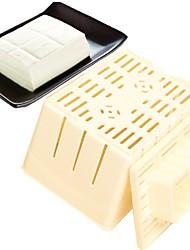 1Pcs   DIY Homemade Tofu   Mold Box Plastic Soybean Curd Making Machine Kitchen Cooking Tools