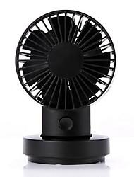 A nova cabeça sacudiu a cabeça dobro hakaze fã usb mini desktop ventilador do pequeno ventilador mini ventiladores elétricos portáteis