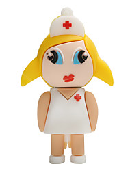 Hot New Cartoon Female Nurse USB2.0 32GB Flash Drive U Disk Memory Stick