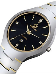 Men's Sport Watch Fashion Watch Chinese Quartz Alloy Band Silver