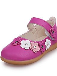 Girls' Oxfords Spring Summer Comfort PU Party & Evening Dress Casual Flat Heel Magic Tape