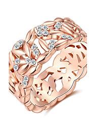 Массивные кольца Кольцо КристаллБазовый дизайн Уникальный дизайн Мода По заказу покупателя Euramerican Pоскошные ювелирные изделия
