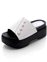 Damen-Sandalen-Outddor-PU-Keilabsatz-Komfort-