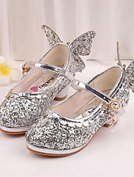 Girls' Flats Spring Fall Comfort Glitter Casual Flat Heel