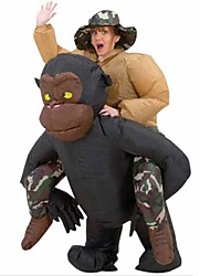 Purim New Year's Party Adult Monkey Inflatable Riding Gorilla Costume Halloween Venice Carnival Dress For Women Costume