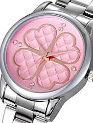 SKONE Mulheres Relógio de Moda Chinês Quartzo Lega Banda Prata