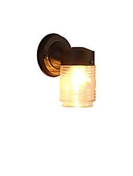 Luz de parede moderno / preto contemporâneo acabamento de óxido para mini arandelas de parede styleambient leve