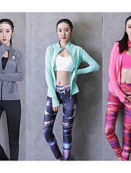 Women's Running Comfortable Spring Summer Yoga Chinlon Loose Athleisure Solid