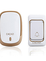CACAZI K01 Home Wireless Doorbell Exchange Remote Remote Control Electronic Doorbell Old Pager Adjustable Volume Music