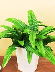 1 Ramo Isopor Plástico Couro Ecológico Fibra Toque real Plantas Outras Flor de Mesa Flores artificiais