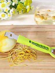 1 Peça Limão Peeler & Grater For Fruta para Chocolate Plástico Aço Inoxidável Multifunções Gadget de Cozinha Criativa