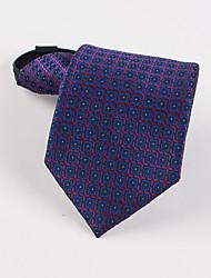 Корейский ленивый узор деловой человек молния галстук