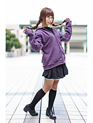 Inspired by Sailor Moon Sailor Moon Anime Cosplay Costumes Cosplay Suits Solid Hoodie For Female