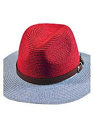 Men Bucket Hat Leather Summer Straw Hat Cap Wide Brim Hawaii Folding Soft Sun Hat Casual Foldable Brimmed Beach Hats
