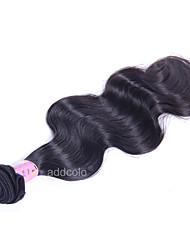 Brazilian Body Wave Hair Weft Virgin Hair Weave 10-26 Unprocessed Hair Weft Extensions Natural Color 100g