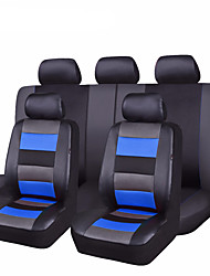 Seat Covers Double(cm)Leather Machine Washable Comfortable