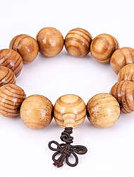 Men's Strand Bracelet Jewelry Natural Fashion Wood Irregular Jewelry For Special Occasion Gift Sports