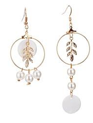 Stud Earrings Drop Earrings Women's Girls' Personalized  Euramerican Bohemian Alloy Pearl Tassel Party Thank You Movie Jewelry