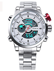 Male Sport Watch Multifunction LED Digital Clock Dual Time Hours Wrist Analog Round Fashion Casual Quartz Men Sport Wristwatch relogio masculino