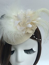 Women's Crystal / Alloy / Acrylic Headpiece-Wedding / Special Occasion / Casual Flowers 1 Piece