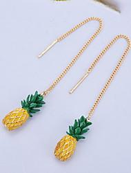 Stud Earrings Drop Earrings Women's Girls' Personalized  Euramerican Adorable Alloy Fruit Drop Earrings Party Graduation Movie Jewelry