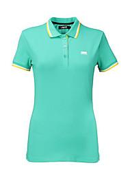 Mulheres Manga Curta Golfe Camiseta Golf Golfe