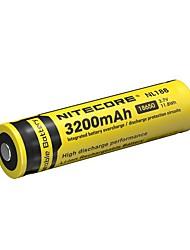 2pcs nitecore nl1832 3200mAh 3.7v 11.8wh 18650 литий-ионный аккумулятор
