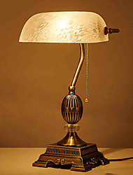 31-40 Traditional/Classic Rustic/Lodge Table Lamp , Feature for Decorative Ambient Lamps , with Electroplated Use On/Off Switch Switch