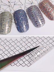 12 Стикер искусства ногтя Наклейка для переноса воды макияж Косметические Ногтевой дизайн