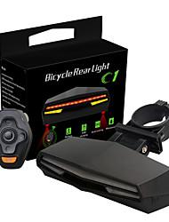 Велосипедные фары велосипед свечения лампы Задняя подсветка на велосипед LED Laser Велоспорт Люмен USB красный Велосипедный спорт