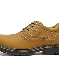 Camel Men's Outdoor Leisure Lace-up Durable Work Shoes Color Earth Yellow