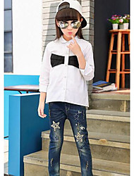 Boys' Party Solid Jeans Summer