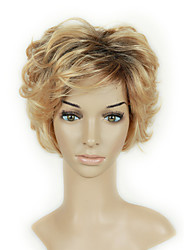 Blonde or Sliver Wave Beauty Looking Daily Wig Heat Resistant Copslay Party Wing