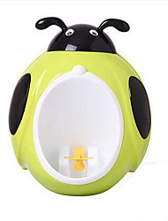 Cute Kids Eco Friendly PP Men Toilet Children Bath Caddies