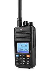 Tyt tytera mise à niveau md-380g dmr radio numérique avec fonction gps uhf 400-480mhz walkie talkie bidirectionnelle compatible avec