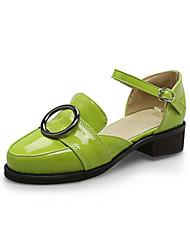 Women's Sandals Summer Light Soles Leatherette Casual Low Heel Buckle
