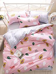 Duvet Cover Set 1pc Duvet Cover 1pc Bed Sheet Set 2  pcs Pillowcase Bedding Set Cactus