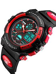 Reloj Smart Resistente al Agua Deportes Múltiples Funciones Reloj Cronómetro Despertador Cronógrafo Calendario Dos Husos Horarios OtherNo