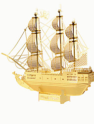 Jigsaw Puzzles 3D Puzzles Building Blocks DIY Toys Ship StainlessSteel Model & Building Toy