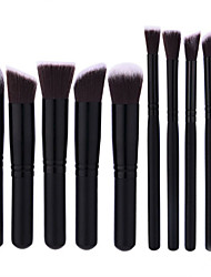 10 Pcs Makeup Brush kit Set Untuk Eyeshadow Blusher Kosmetik Brushes Alat Terbaik Kemasan Ritel Makeup Alat