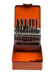 Escudo de aço 21 conjuntos de torneiras conjuntos de conjuntos / 1 conjuntos