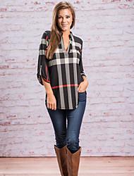 Damen Verziert Retro Niedlich T-shirt,Quadratischer Ausschnitt Langarm Seide