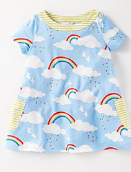 Girl's Fashion Dress,Others Spring Short Sleeve